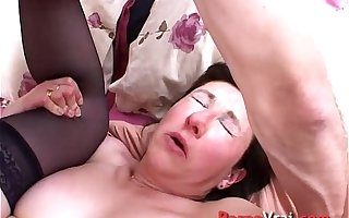 Orgasm mature naive french with a stranger French amateur