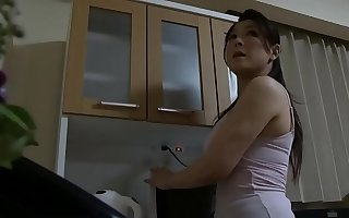 Japanese mom saw my hard dick