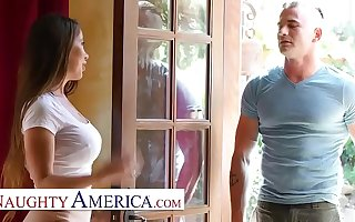 Naughty America - Bianca Burke teaches acting with the addition of fucking lessons