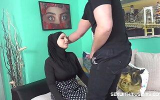 Busty Muslim gets fucked hard