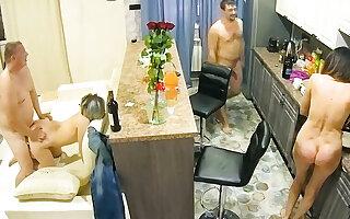 Amateur Adult Swingers on Cell Hidden Cam