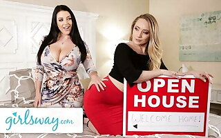 GIRLSWAY – Angela White Can't Move On From Say no to Ex AJ Applegate